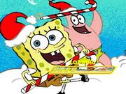Play Spongebob Snow Adventure