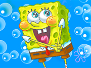 Play Spongebob War