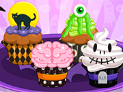 Play Spooktacular Halloween Cupcakes