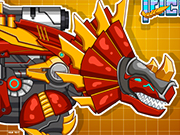 Play Steel Dino Toy: Mechanic Triceratops