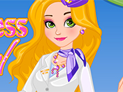 Play Stewardess Rapunzel