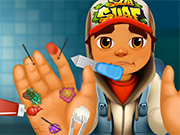 Play Subway Surfer Hand Caring