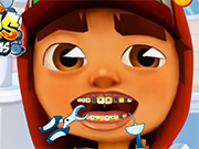 Play Subway Surfer Tooth Problems