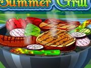 夏のグリル