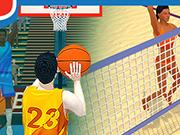 夏のスポーツ:バスケットボール
