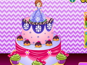 Play Sumptuous Sofia Cake Decor
