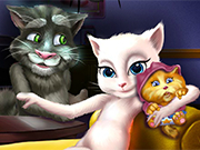 Play Talking Angela and the New Born Baby
