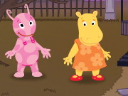 Play The Backyardigans: Trick or Treat with Backyadigans