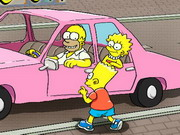 Play The Simpsons Parking Game