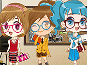 Play Three School Cuties