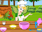 Play Tinkerbell Fairy Wedding Cake Prep