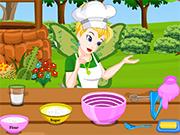 Play ティンカーベル妖精ウエディングケーキの準備