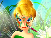 Play Tinkerbell Spring Face Painting