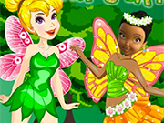 Play Tinkerbell Vs Iridessa Fairyes Battle