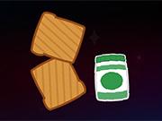 スペースでトースト