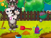 Play Tom Family Gardening