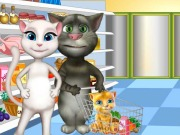 Play Tom Family Shopping And Cooking