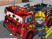 Play Tom Wash Fire Truck