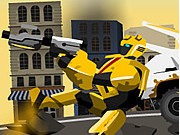 Play Transformer Buble Bee Rescue Mission