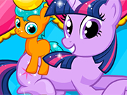 Twilight Sparkle Gave birth twin