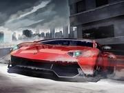 V8の冬の駐車場