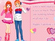 バレンタイン愛のカード