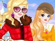 Play Winter Besties Dressup