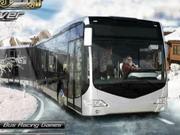 冬のバスドライバー