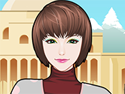 Play Winter Travelling Makeup