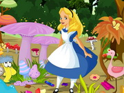 Alice In Wonderland Cleaning