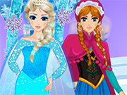 Anna elsa Frozen Princesses