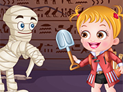 Play Baby Hazel Archaeologist Dressup