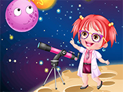 Play Baby Hazel As Astronomer Dressup