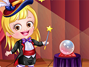 Play Baby Hazel Magician Dressup