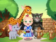Play Baby Rosy And Tom Zoo Adventure