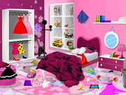 Barbie Bedroom Clean