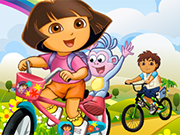 Dora and Diego Race