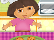 Dora Cooking Crackers