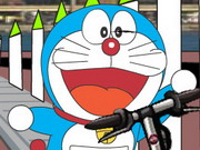 Doraemon On Scooter