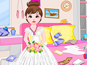 Flower Girl Room Cleaning