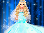 Frozen Diva Wedding Dress