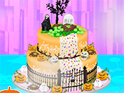 Halloween Special Cake Cooking