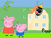 Peppa And George In Alien Invasion