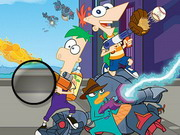 Phineas And Ferb Hidden Letters