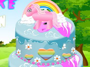 Pony Cake Decoration