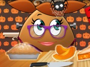 Pou Girl Pumpkin Pie
