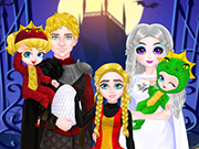 Play Princess Family Halloween Costume
