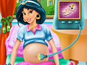 Princess Jasmine Maternity Doctor