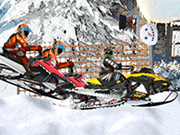 Play Snowmobile Cross Country
